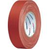 HellermannTyton Öntapadós textilszalag (H x Sz) 50 m x 50 mm, piros pamut-, polieszterszövet HTAPE-TEX-RD-50x50 HellermannTyton, tartalom: 1 tekercs