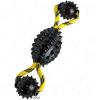 Hunter Spike Ball kötéllel kutyajáték - H 30 x Ø 7 cm