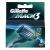 Gillette Mach3 Borotvabetét, 8 db