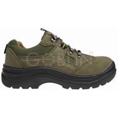 Coverguard EMERALD (S1P CK) khakizöld nubuk cipõ TPU (240?C), kompozit kapli+talp
