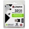 Kingston 32 GB Pendrive USB 3.0 + mikro-USB DataTraveler microDUO (OTG)