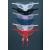 Leg Avenue pillangó alakú tanga flitterekkel (2600)