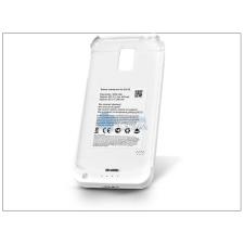 Samsung Samsung SM-G900 Galaxy S5 akkumulátoros hátlap - 3200 mAh - fehér mobiltelefon akkumulátor