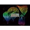 Szivárványos - Hőlégballon