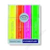 STAEDTLER Szövegkiemelő készlet, 1-5 mm, STAEDTLER, 4 különböző szín (TS364PWP4)