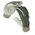 NEMMEGADOTT védőkesztyű hasított bőr, pamut kézhát GUIDE 197 (10)
