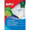 Etikett, univerzális, 48,5x25,4 mm, APLI, 4400 etikett/csomag (LCA3129)