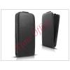 Haffner Slim Flexi Flip bőrtok - Samsung SM-G386 Galaxy Core LTE - fekete