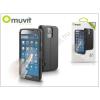 Muvit Samsung SM-G900 Galaxy S5 flipes tok - Muvit Window Folio - black