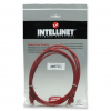 Intellinet Network Solutions Intellinet Network Cable RJ45  Cat6 UTP  1m Red  100% copper