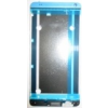 HTC One Max előlap és lcd keret ezüst*