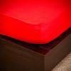 NATURTEX 200x200 cm-es jersey gumis lepedő (piros)