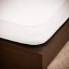 NATURTEX 160x200 cm-es jersey gumis lepedő (fehér)