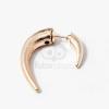 Arany bevonatos szarv fülbevaló jwr-1058