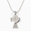 Kelta kereszt szívvel nyakláncon jwr-1027