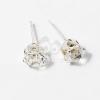 Ezüst bevonatos köves fülbevaló jwr-1055