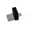 Kingston Pendrive, 32GB, USB 3.0+micro USB adapter, táblagéphez, KINGSTON MicroDuo, fekete (UK32G3MDF)