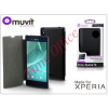Made for Xperia MUVIT Sony Xperia T3 (D5103) flipes tok - Made for Xperia Muvit Ultra Slim Folio - black