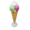 CRI-0 fagylalt dekoráció