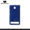 Mercurycase MERCURY Goospery telefonvédő gumi / szilikon (csillámporos) SÖTÉTKÉK [Sony Xperia E1 (D2005)]