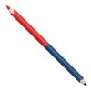 ICO Postairón, piros-kék, háromszögletű, vastag, ICO