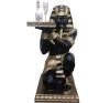 EGYE-62-es fáraó szobor dekoráció