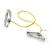 Thera-Band Erősítő gumikötél szivacsos fogantyúval 1,4 m, gyenge, sárga