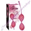 SMILE Sporty - rózsaszín gésagolyó
