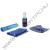 MANHATTAN 421010 Mini Lcd Tisztító Kit, Alkohol Mentes, Tisztító kendővel, ecsettel 60ml