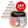 Miamor Sensibel gazdaságos csomag 24 x 100 g - Marha & rizs