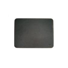 Ewent Mouse Pad Black leather look asztali számítógép kellék