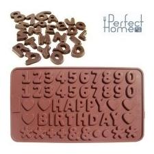 Perfect home 28232 csokiforma számok, betűk konyhai eszköz