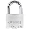 Abus TITALIUM Egyforma kulcsos lakat 727/50 KA