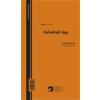 Felvételi lap ipari fához 50x2 lapos tömb A.ERDO.211/V