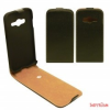 CELLECT Samsung Galaxy Alpha Flip bőr tok,Fekete