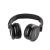 Qoltec Headphones + microphone   Black