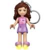 LEGO Friends-Olivia világítós kulcstartó