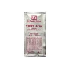 EC 12880 uS/cm kalibráló folyadék mérőműszer