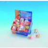 Nobby Macskajáték fonott színes gumilabda 5cm