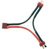 Modelcraft Modelcraft T-Y kábel (2 akku sorban) 2.5 mm² 700 mm