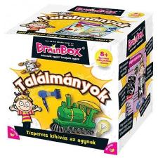 Brainbox Találmányok társasjáték