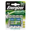 ENERGIZER Tölthető elem, AA ceruza, 4x2000 mAh, ENERGIZER