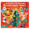 Gyurma karácsonyfa készlet