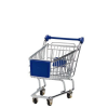 mini bevásárlókocsi kék 14.5cm