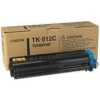 Kyocera TK-510C (eredeti) kek toner