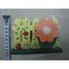 Papírtartó, virágoskert