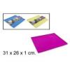 Szilikon lap 36x21x1 cm, különböző színekben (1db)