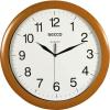 Secco Falióra, 32 cm,  SECCO Sweep Second, fa hatású keret (DFA021)