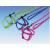 Nobby Nobby Nyúl hám + póráz szett - répa és nyuszi mintával 1m-10mm ( 3 színben)