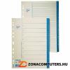 Regiszter, karton, A4, 1-10, ESSELTE, fehér (E56116)